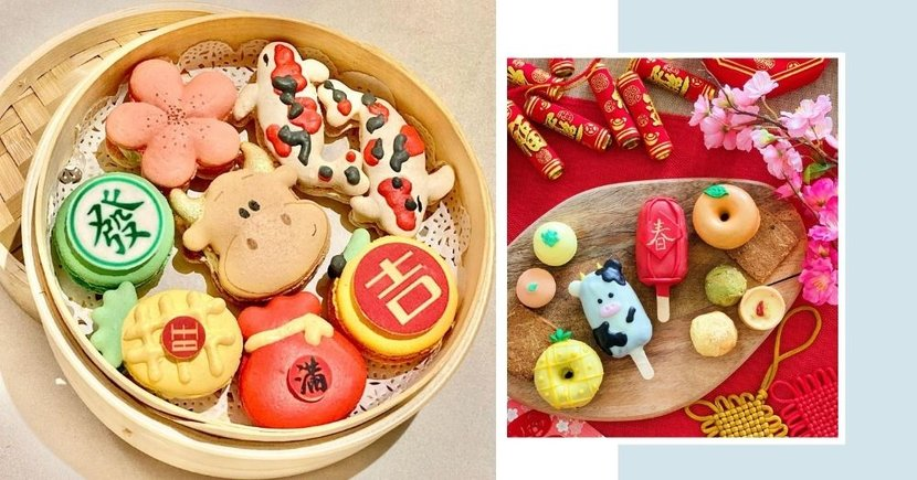 9 Pretty & Cute Chinese New Year Snacks For 2021 That Taste As Good As They Look