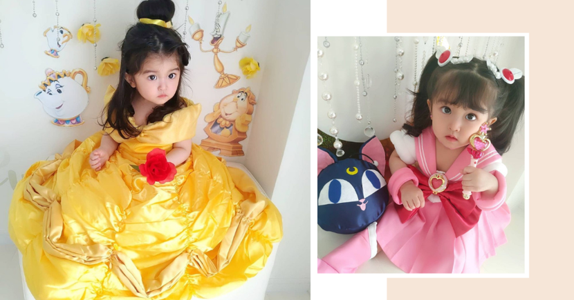 Cute Baby Cosplayer Has Transformed Into Every Character From Sailor Moon Scouts To Disney Princesses
