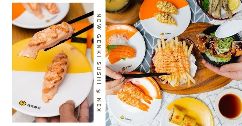 Genki Sushi Is Giving Away Free Salmon Mentai & Merch At Their Newest NEX Outlet