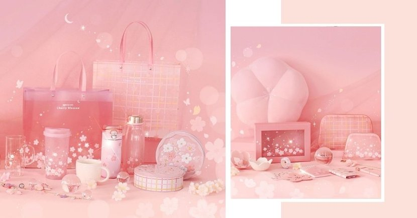 Daiso Korea Launches New Cherry Blossom Collection, Selected Products Are Avail Online In SG