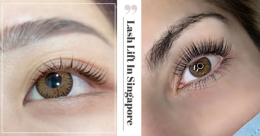 9 Best Lash Lift Places In Singapore To Help You Look Like You Always Have Mascara On