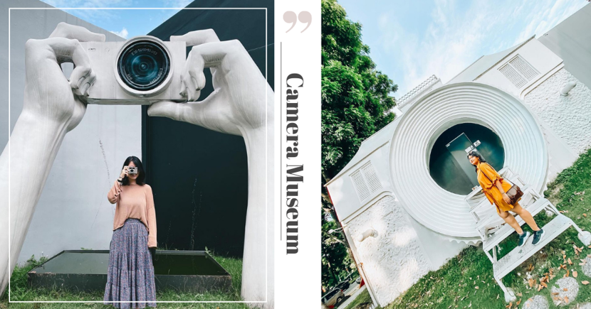 Quirky Vintage Camera Museum In Singapore Has Giant Camera Statues, Rare Photographs & Over 1000 Cameras
