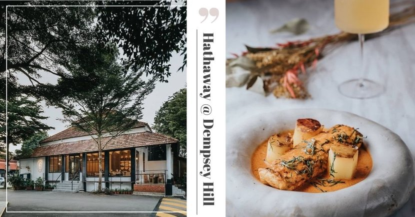 This Restaurant At Dempsey Hill Is A Hidden Gem With Elegant Decor & European-Asian Fusion Dishes