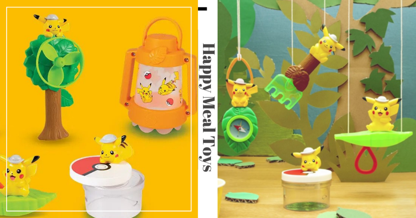 New McDonald's Singapore Pokemon Happy Meal Toy Features The Adorable Pikachu
