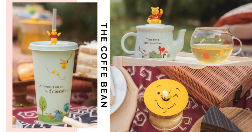 New Winnie-The-Pooh Merchandise By The Coffee Bean & Tea Leaf Singapore Includes An Adorable Tea Pot & More