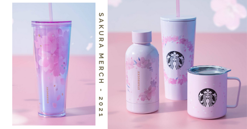 Starbucks Singapore Has A New Sakura Collection For Those Who Are Missing Japan