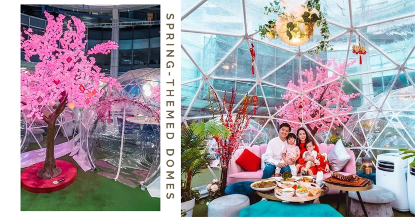 Free Dome Dining At Capitol: Back With New Sakura Spring Theme For CNY 2021 In Singapore