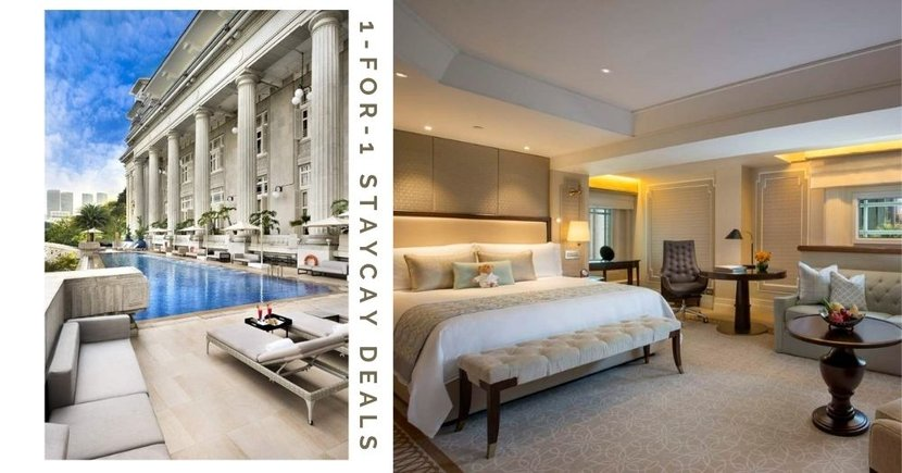 8 Best 1-For-1 Staycation Deals At 4 & 5-Star Hotels In Singapore, Bookings Start From 27 Feb