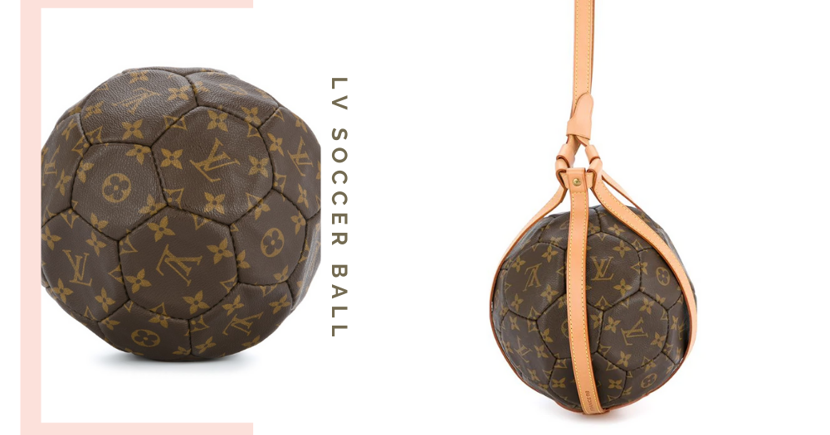 Louis Vuitton Has A $6,410 Leather Monogram Soccer Ball And We're Not Sure How To Feel About It