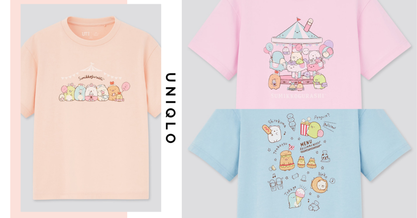 New UNIQLO x Sumikkogurashi & Bubble Tea-Themed Collection In Singapore Makes Us Wish We Were Kids Again