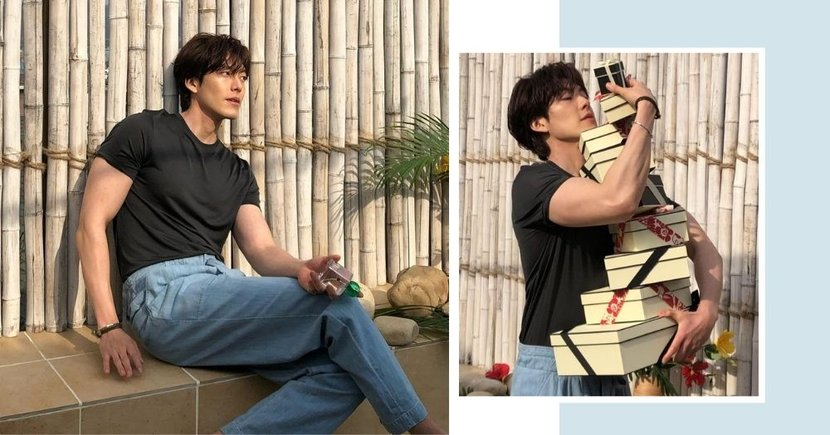 Korean Actor Kim Woo Bin Impresses With Buff Physique After Bouncing Back From Cancer