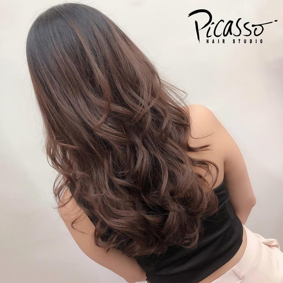 Freestyle permed hair picasso