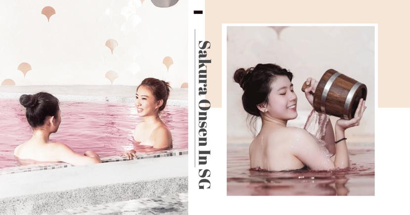 Yunomori Onsen & Spa At Kallang Has A Special Sakura Bath For You To Soak In Till 18 April