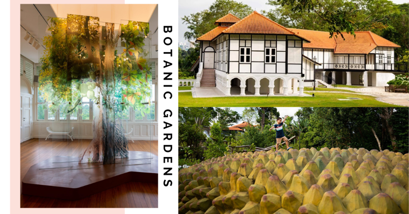 New Botanic Gardens Extension Has IG-Worthy Galleries In Colonial Buildings, A Cafe, Hiking Trail & Garden Playground