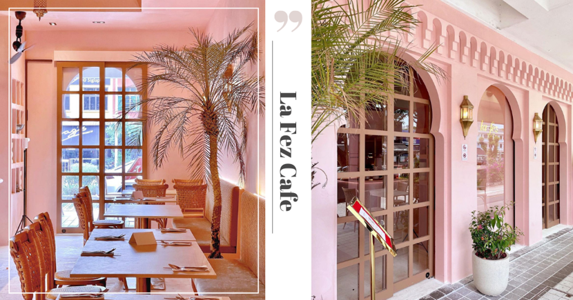 New Pink Cafe In Singapore Will Make You Feel Like You're On Holiday In Morocco