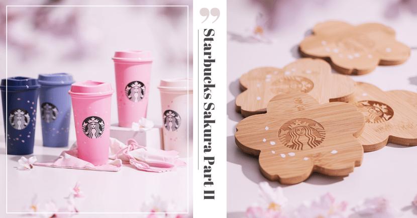 Starbucks Singapore Has New Sakura Merchandise Part II That's Eco-Friendly & Affordably Priced