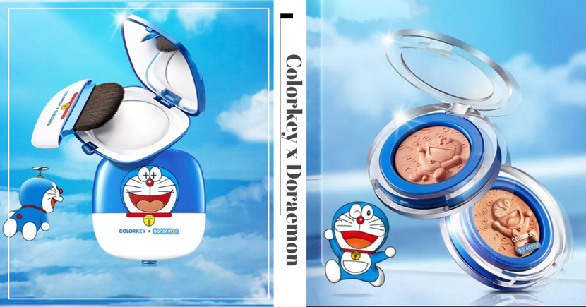 New Colorkey X Doraemon Makeup Collection In Singapore Is Affordably Priced & Comes In Flattering Colours