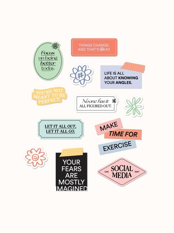 kāi Take Heart stickers