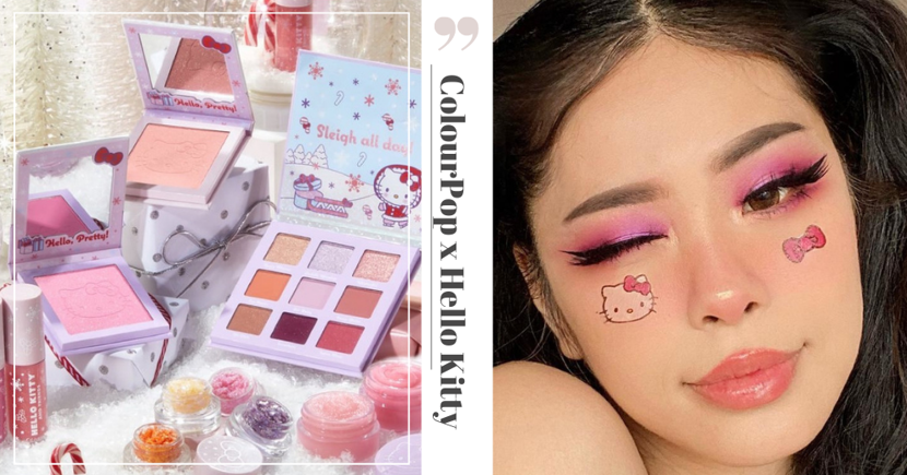 The Adorable ColourPop X Hello Kitty Makeup Collection Is Now Available To Shop Online In Singapore