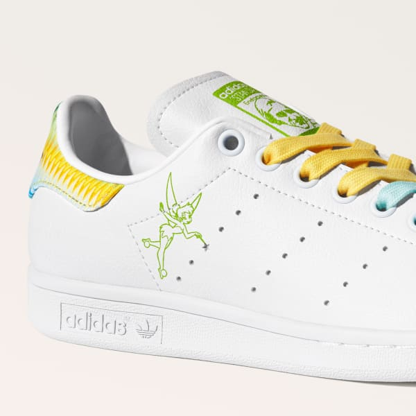 adidas Tinkerbell side of sneakers