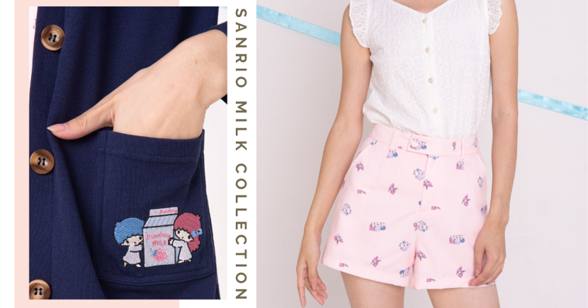 Singapore Fashion Boutique Has New Sanrio Milk-Themed Clothes With Classy Designs For Adults