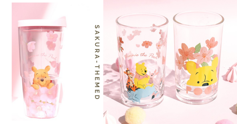 These Winnie The Pooh Sakura-Themed Drinkware Will Motivate You To Drink More Water