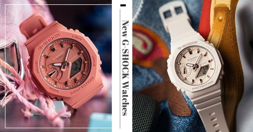 New G-SHOCK Watches In Pretty Pastel Hues Available Online In Singapore From 26 March