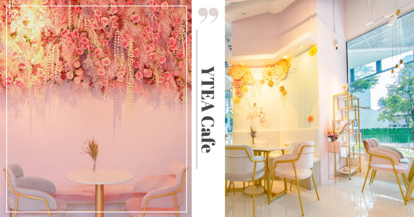 Insta-Worthy Pink Floral Dessert & Bubble Tea Cafe In Singapore Has Moved To An Even Prettier Location