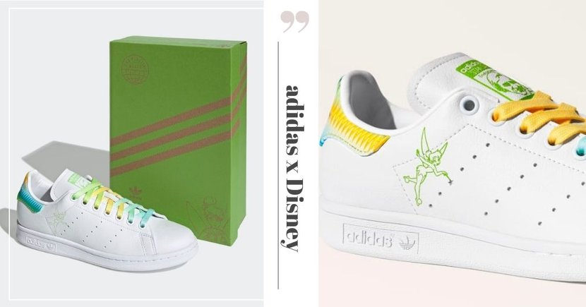 New adidas Stan Smith Tinkerbell Sneakers With Rainbow Colours Launching In Singapore On 4 April