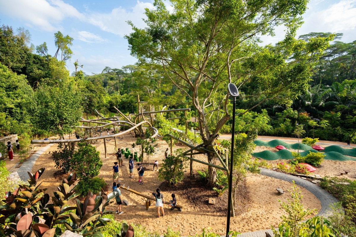 COMO Adventure Grove at botanic gardens singapore