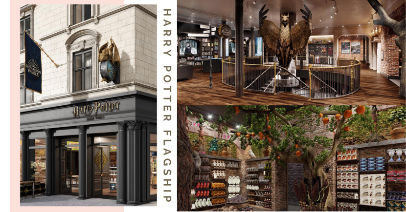 World's First Harry Potter Flagship Store With 15 Themed Zones & VR Games Opening On 3 June 2021 In NYC