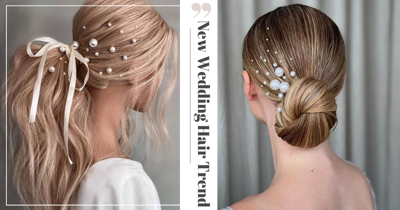 New Wedding Hair Trend: Have Pearls In Your Tresses For Extra Elegance & Sophistication