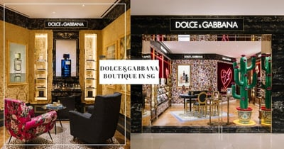 Dolce&Gabbana Opens First Beauty Boutique In Singapore With Stunning Regal Decor