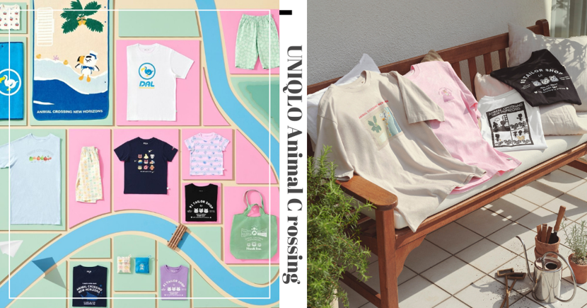 New UNIQLO Animal Crossing T-Shirts & Home Goods Are Launching Soon In Singapore