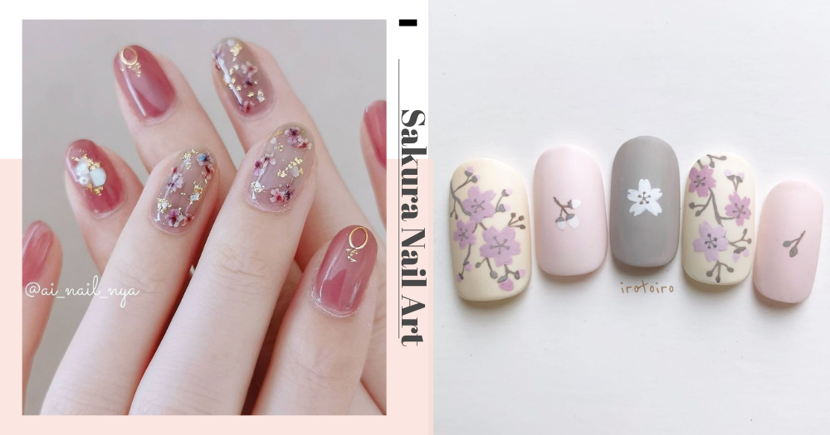 9 Sakura Nail Art Designs For Singaporean Ladies Who Are Missing Cherry Blossom Season In Japan