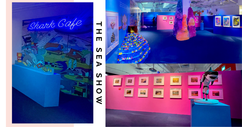 The Sea Show: New Free Colourful Exhibition In Singapore Has Instagrammable Ocean-Themed Installations