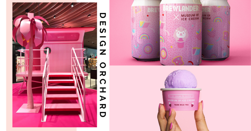 New Free Pink Pop-Up At Orchard With Museum of Ice Cream-Themed Food, Drinks & More