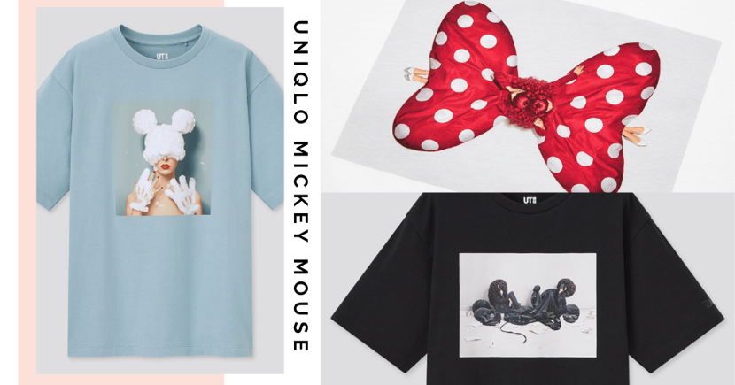 New Artistic UNIQLO T-Shirts In Singapore Ft. Mickey & Minnie Mouse Come With Free Postcards