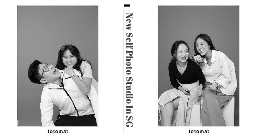 New Studio In Singapore Lets You Take Aesthetic Black & White Photos Yourself Without A Photographer