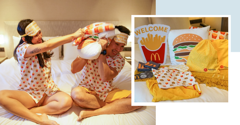 Previously Sold Out McDonald's Couple Staycations Are Back, With Free Pyjama Sets & Food Vouchers