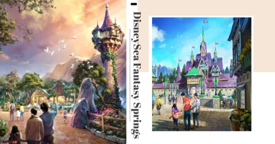 Japan's Tokyo DisneySea Is Opening A New Extension With Frozen, Tangled, & Peter Pan Zones
