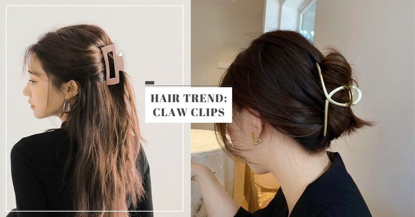 Claw Clips Are The New Hair Accessory Trend, Here Are 6 Fashionable Ones You Can Get In Singapore