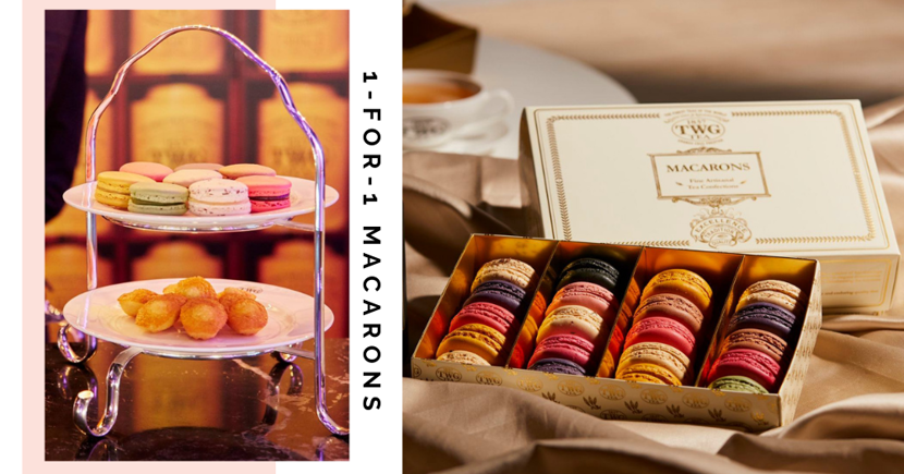TWG Tea Singapore Is Having 1-For-1 Tea-Infused Macarons For A Limited Time