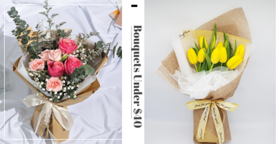 7 Florists In Singapore With Affordable Bouquets Below $40 To Surprise Your Loved Ones With