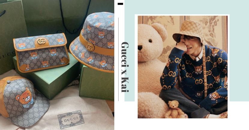 Gucci Has Teamed Up With Korean Star Kai To Create An Adorable Teddy Bear-Themed Collection, Get It In SG
