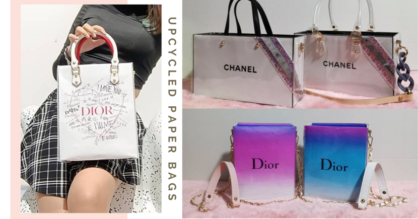 Singapore IG Store Transforms Authentic Luxury Fashion Paper Bags Into Water-Resistant Handbags