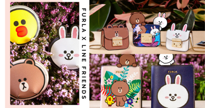 New FURLA LINE FRIENDS Capsule Collection Has Adorable Bags, Wallets, Makeup Pouches & More
