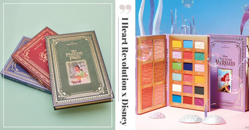 Vintage-Style Disney Storybook Face & Eye Palettes You Can Shop Online In Singapore