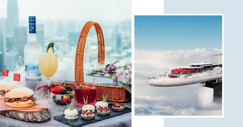 New Date Idea: Go On A Picnic In The Clouds At This MBS Rooftop Bar