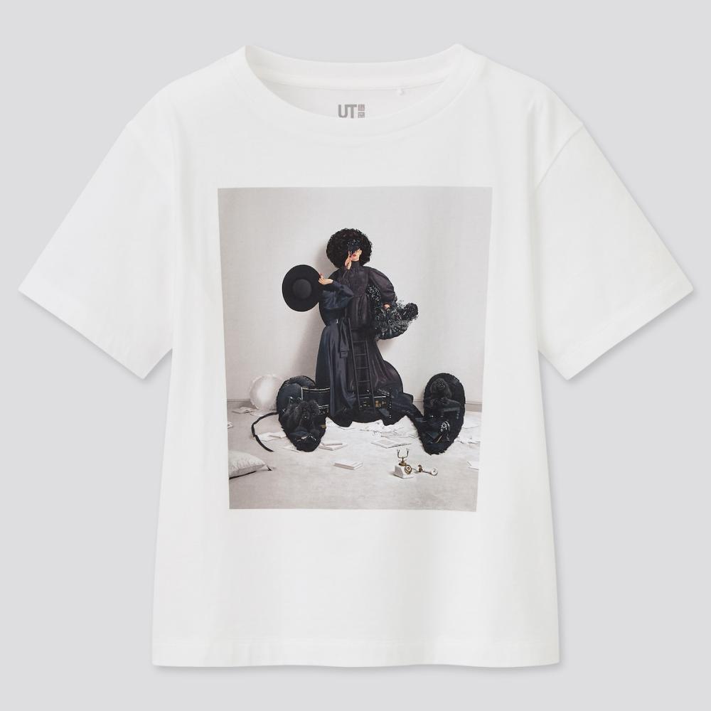 MICKEY MOUSE & MINNIE MOUSE ART BY YUNI YOSHIDA uniqlo t shirt